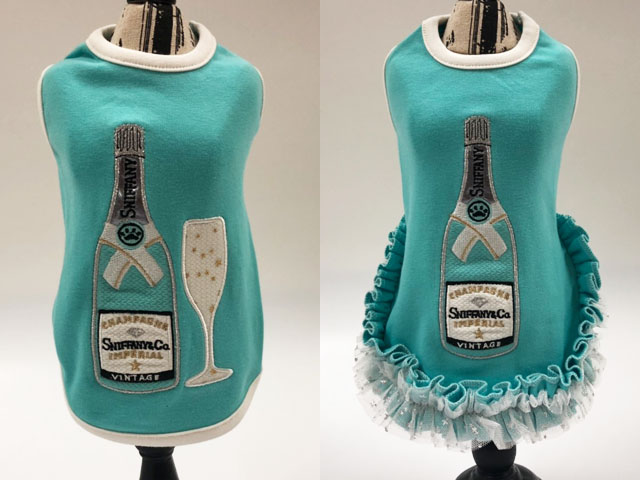 【Luna Blue★ルナブルー】SNIFFANY CHAMPAGNE TANK & DRESS