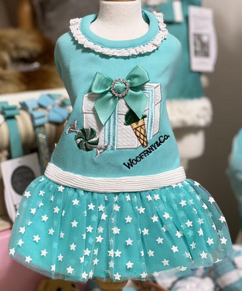 【Luna Blue★ルナブルー】ウーファニー ホワイトボックス ドレス☆WOOFFANY WHITE BOX DRESS