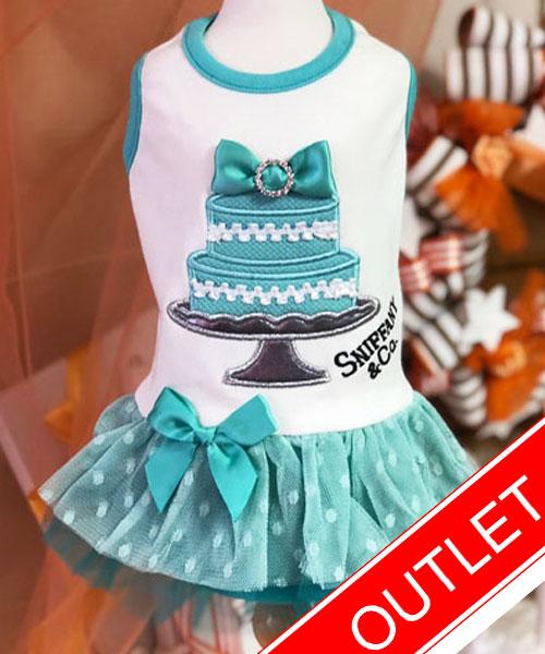 ★会員様限定販売★【Luna Blue★ルナブルー】スニファニー ブルー ケーキ ドレス☆SNIFFANY BLUE CAKE DRESS