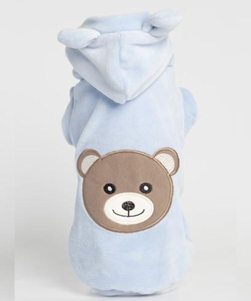 ※先行予約販売※【Sparkling Dog★スパークリングドッグ】  SPARKLING BEAR SWEATSHIRT/BABY BLUE