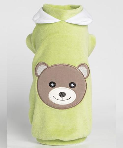 【Sparkling Dog★スパークリングドッグ】SPARKLING BEAR BON-TON SWEATSHIRT/PASTEL GREEN