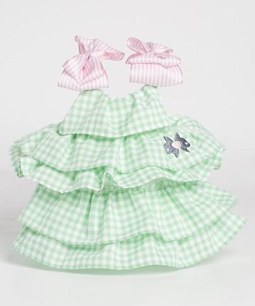 【Sparkling Dog★スパークリングドッグ】SWEET VANILLA DRESS/PASTEL GREEN