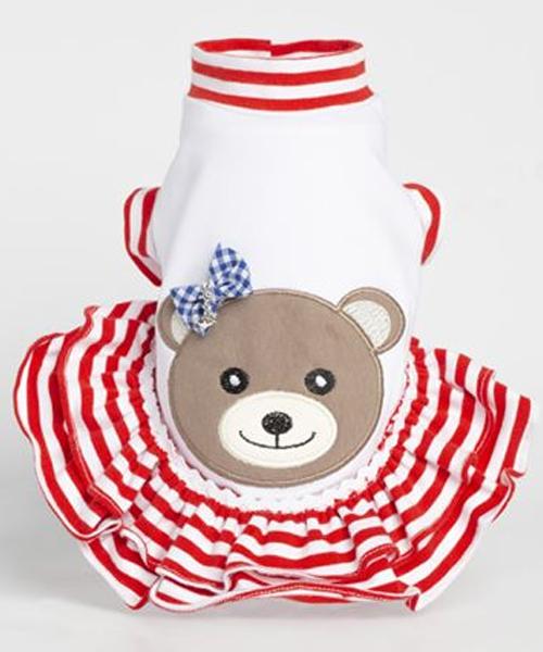 【Sparkling Dog★スパークリングドッグ】SPARKLING SAILOR TEDDY/GIRL