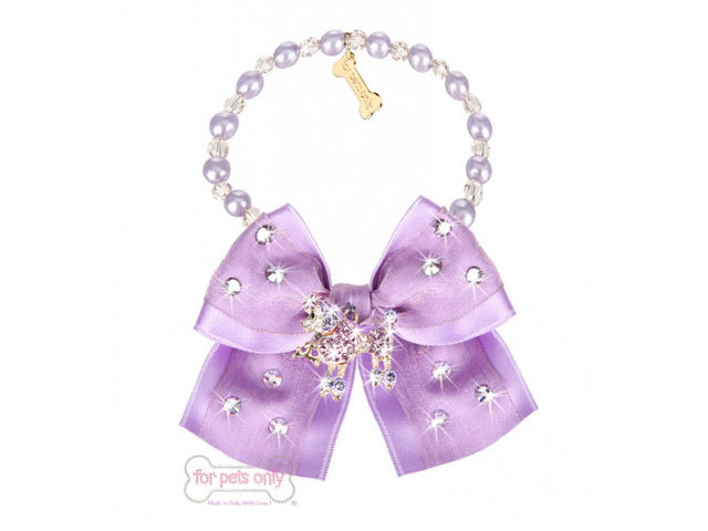 【For Pets Only★フォー・ペッツ・オンリー】POODLE BIJOUX LILAC