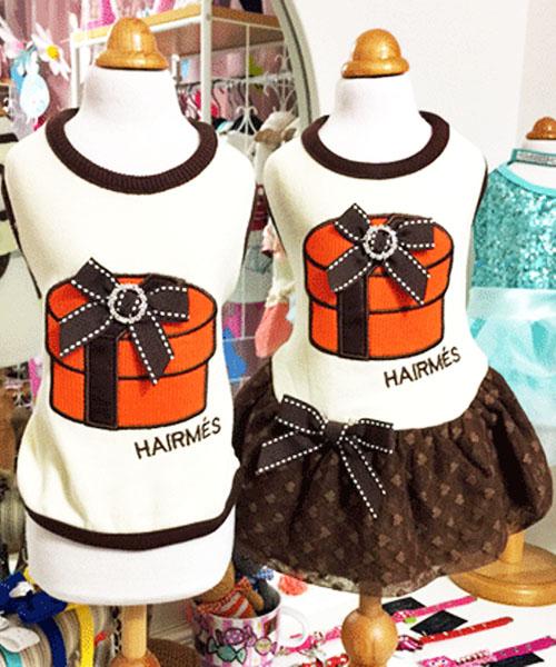 【Luna Blue★ルナブルー】ヘアメス ラウンド ボックス☆HAIRMES ROUND BOX Tank & Dress