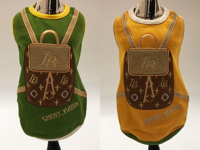 【Luna Blue★ルナブルー】CHEWY VUITON BACKPACK TANK