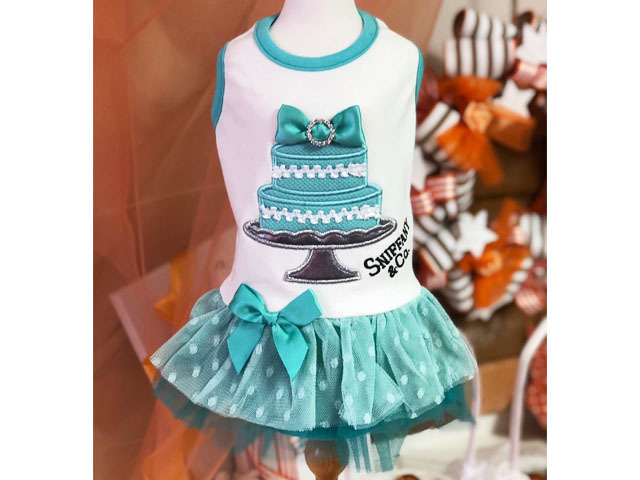 【Luna Blue★ルナブルー】SNIFFANY BLUE CAKE DRESS