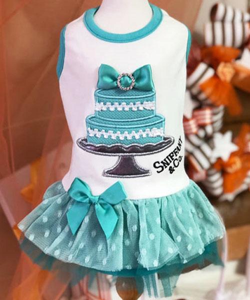 【Luna Blue★ルナブルー】スニファニー ブルー ケーキ ドレス☆SNIFFANY BLUE CAKE DRESS