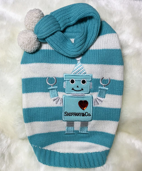 【Luna Blue★ルナブルー】スニファニー ロボット セーター☆SNIFFANY ROBOT SWETER