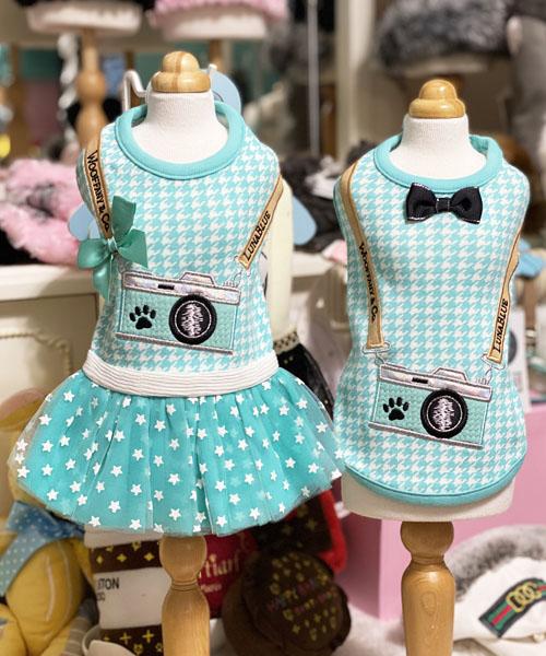 【Luna Blue★ルナブルー】ウーファニー カメラ ドレス&タンク☆WOOFFANY CAMERA DRESS&TANK