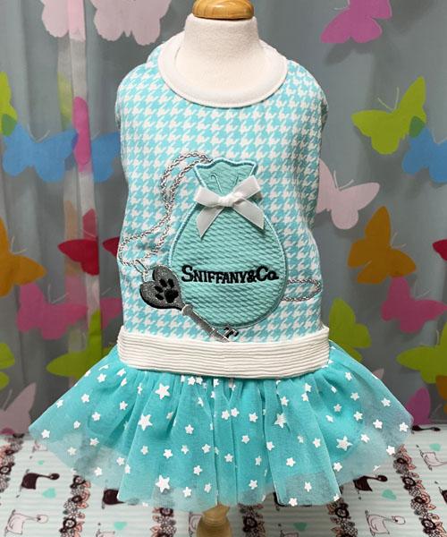 ※先行予約販売※【Luna Blue★ルナブルー】スニファニー キーポーチ ドレス☆SNIFFANY KEY POUCH DRESS