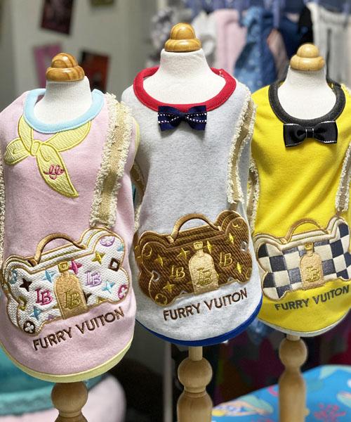 ※先行予約販売※【Luna Blue★ルナブルー】ファーリー ヴィトン ポシェット バッグ タンク☆FURRY VUITON POCHETTE BAG TANK