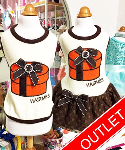 ★会員様限定販売★【Luna Blue★ルナブルー】ヘアメス ラウンド ボックス☆HAIRMES ROUND BOX Tank & Dress