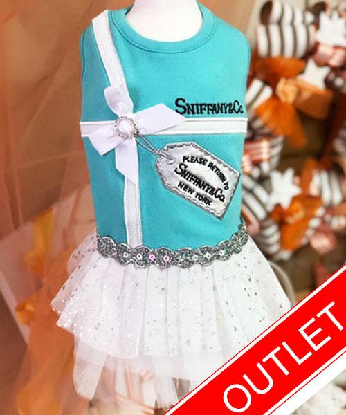 ★会員様限定販売★【Luna Blue★ルナブルー】スニファニー プラチナム タグ ドレス☆SNIFFANY PLATINUM TAG DRESS
