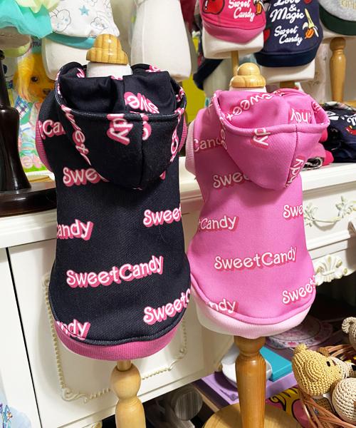 ※5月中旬再入荷予定※【Sweet Candy】SCロゴフーディ
