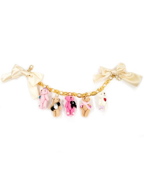 【天使のカート×acuu milia×Sweet Candy】コラボカートチャーム/ブラウンベアー