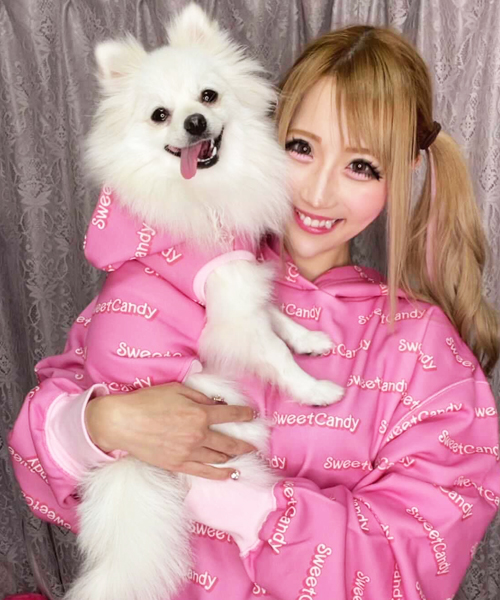 【Sweet Candy】ママ用SCロゴフーディ
