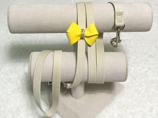 【Susan Lanci★スーザンランシー】Nouveau Bow Leash(Doe×Sunshine)