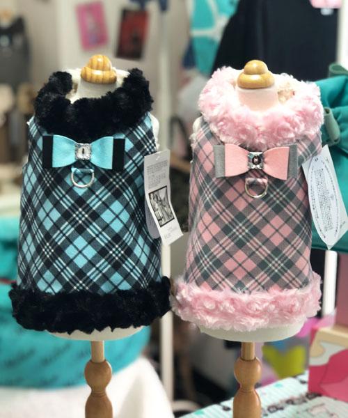 【Susan Lanci★スーザンランシー】プレイド ハーネス ベスト☆Plaid Harness Vest