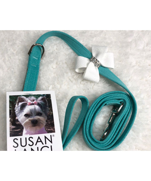 【Susan Lanci★スーザンランシー】Nouveau Bow Leash (Bimini×Premium White)
