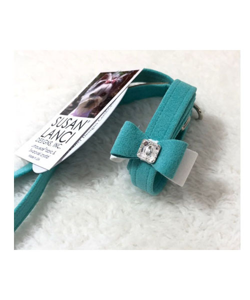 【Susan Lanci★スーザンランシー】Big Bow Leash (Bimini×Premium White×Bimini)