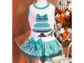 【Luna Blue★ルナブルー】SNIFFANY BLUE CAKE DRESS