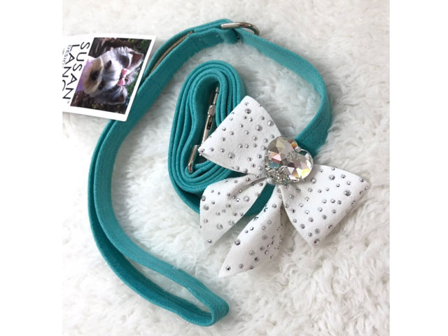 【Susan Lanci★スーザンランシー】Tail Bow Leash (Bimini×Premium White)SSDT