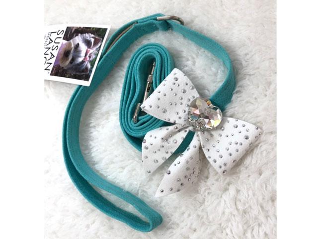 【Susan Lanci★スーザンランシー】Tail Bow Leash (Bimini×Premium White)SSDT
