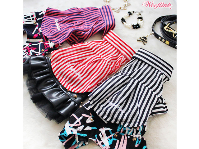 【WOOFLINK★ウーフリンク】Striped Shirts