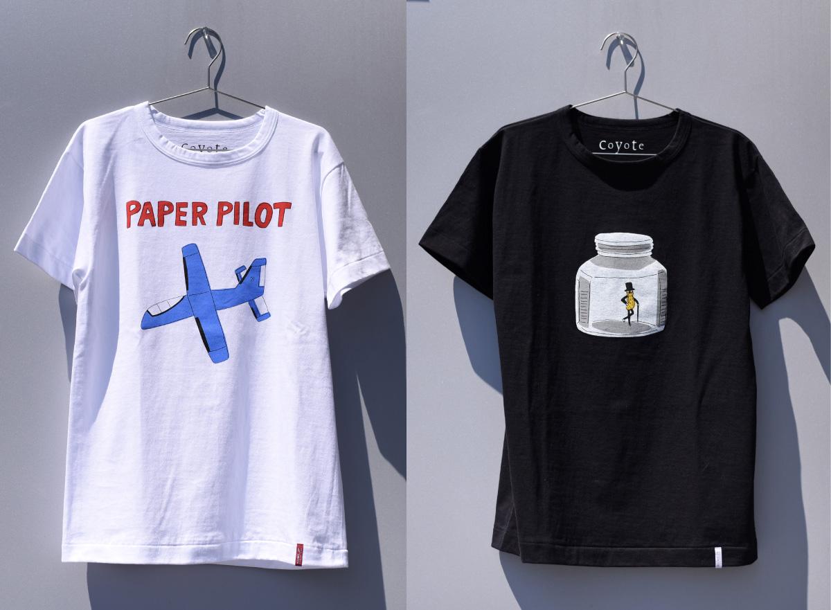 安西水丸 おもしろ美術一年生 Tシャツ