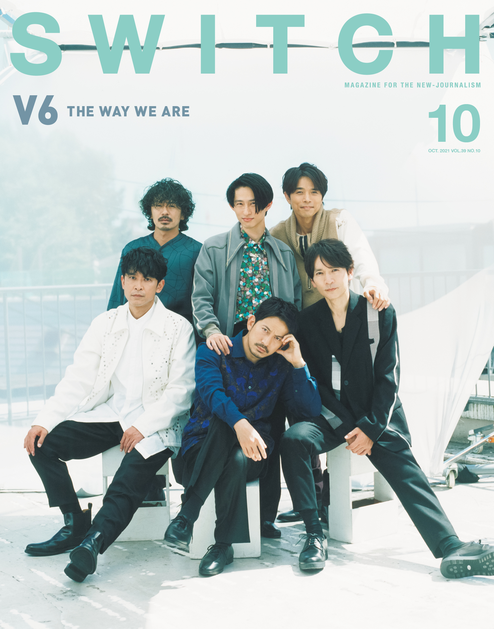 SWITCH Vol.39 No.10 特集 V6 THE WAY WE ARE