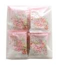 七つのあられ 『花よせ』 桜柄 16袋入)【ご家庭用袋入り】