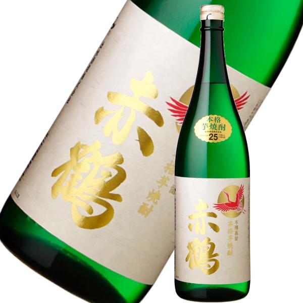 赤鶴 あかづる 25度 1800ml 25度 芋焼酎 出水酒造 鹿児島 通販
