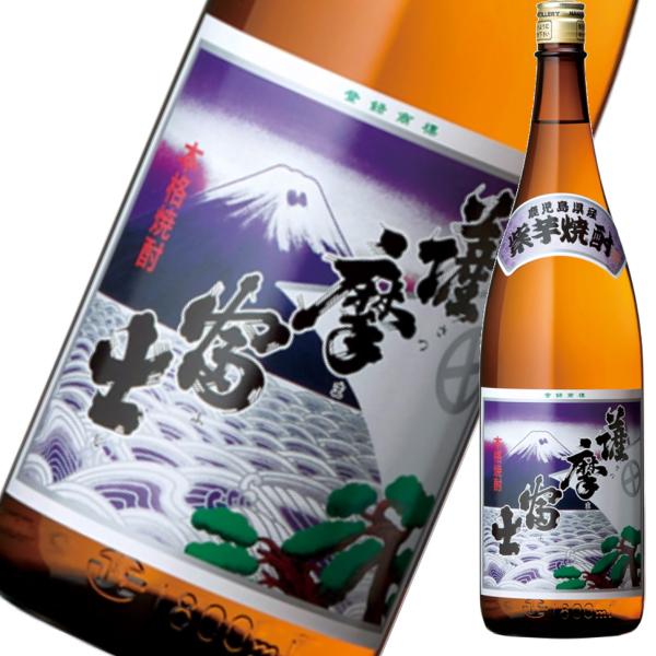 紫薩摩富士 さつまふじ 25度 1800ml 濱田酒造 芋焼酎 鹿児島