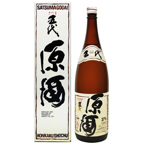 五代原酒 1800ml 芋焼酎
