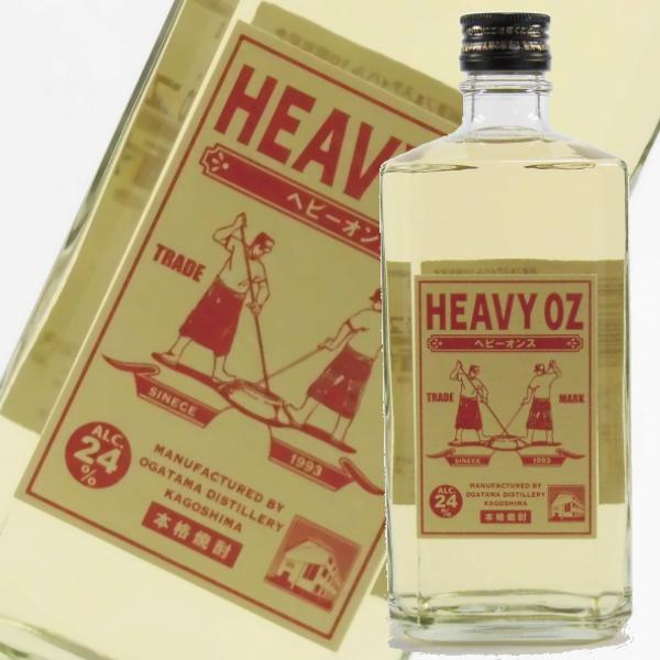 ヘビーオンス 24度 720ml オガタマ酒造 芋焼酎 通販 ライトニングコラボ 樫樽貯蔵
