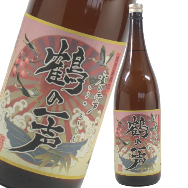 鶴の一声 25度 1800ml 芋焼酎 出水酒造 鹿児島限定 通販