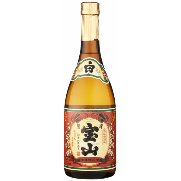 薩摩宝山 さつまほうざん 25度 720ml 西酒造 芋焼酎 鹿児島