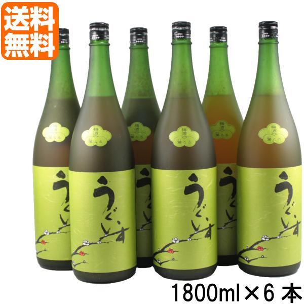 [送料無料] 梅酒 梅 うぐいすとまり 鶯とろ おうとろ 12度 1800ml×6本 山口酒造場