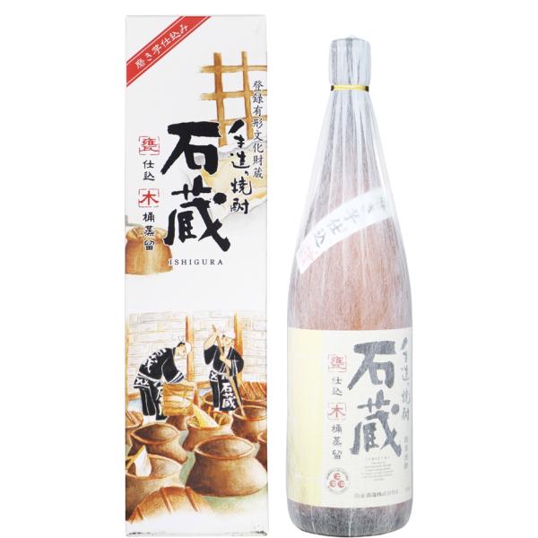 石蔵 25度 1800ml 芋焼酎 白金酒造 手造り焼酎 鹿児島 通販
