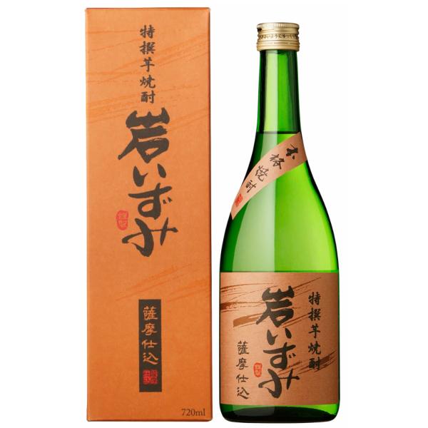 岩いずみ 化粧箱入 25度 720ml 白露酒造 芋焼酎 鹿児島