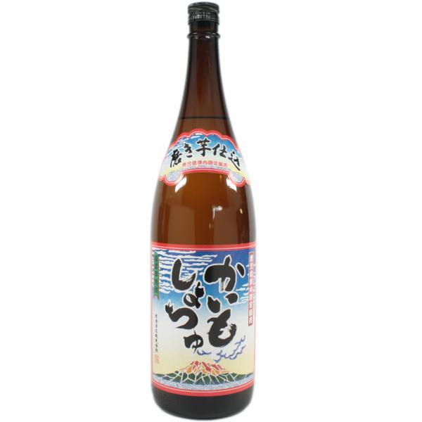 かいもしょつゆ 25度 1800ml 芋焼酎 白金酒造 鹿児島限定 通販