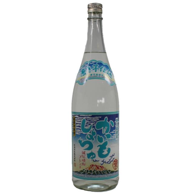 かいもしょつゆ 減圧蒸留ブレンド 28度 1800ml 芋焼酎 白金酒造 鹿児島限定 通販