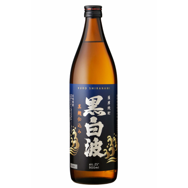 黒白波900ml 芋焼酎 薩摩酒造