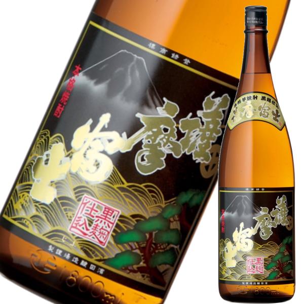 黒薩摩富士 くろさつまふじ 25度 1800ml 濱田酒造 芋焼酎 鹿児島
