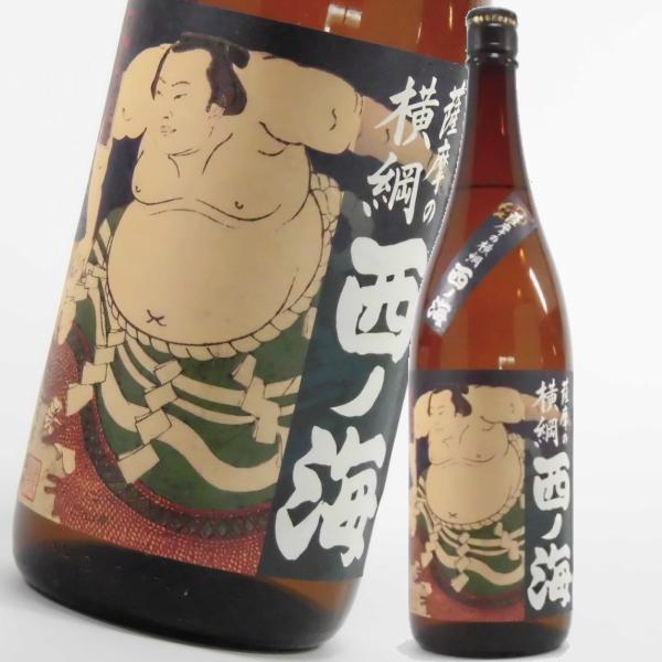 西の海 にしのうみ 1800ml 芋焼酎 田崎酒造 鹿児島限定販売 通販