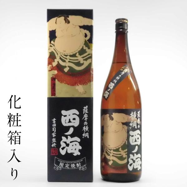 西の海 箱入り 1800ml 芋焼酎 田崎酒造 鹿児島限定販売 通販 ギフト