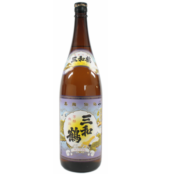 三和鶴 黒麹 さんわづる 25度 1800ml 芋焼酎 三和酒造 鹿児島 通販