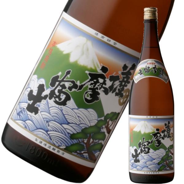 薩摩富士 さつまふじ 25度 1800ml 濱田酒造 芋焼酎 鹿児島