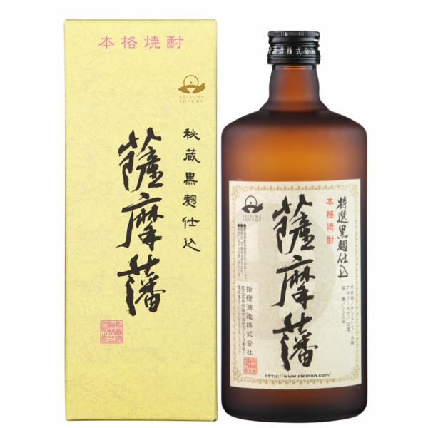 薩摩藩 さつまはん 化粧箱入 25度 720ml 指宿酒造 芋焼酎 鹿児島